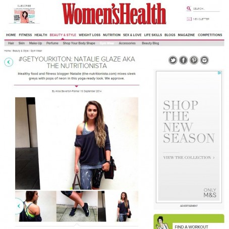 Women's Health The Nutritionista