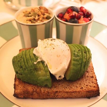 Claridges Healthy Breakfast