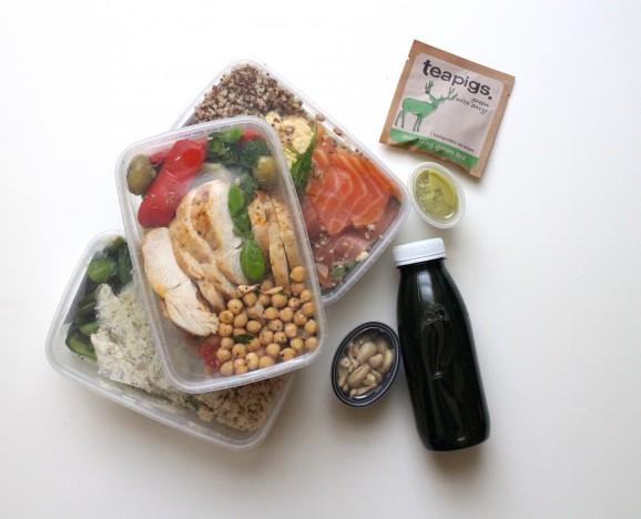My Three Days Of Fresh Fitness Food Natalie Glaze A Uk