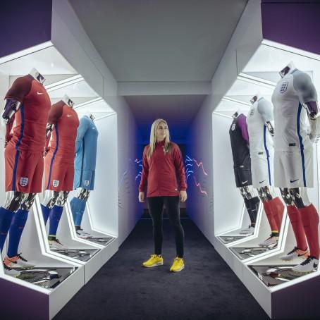 Nike Launch New England Football Kit,