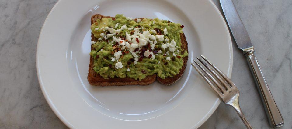 the perfect avocado on toast