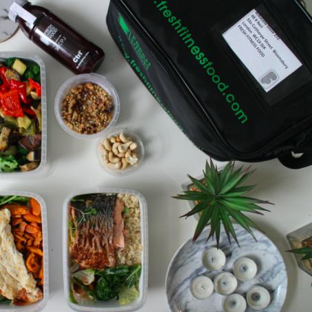 Fresh Fitness Food Vegetarian Package